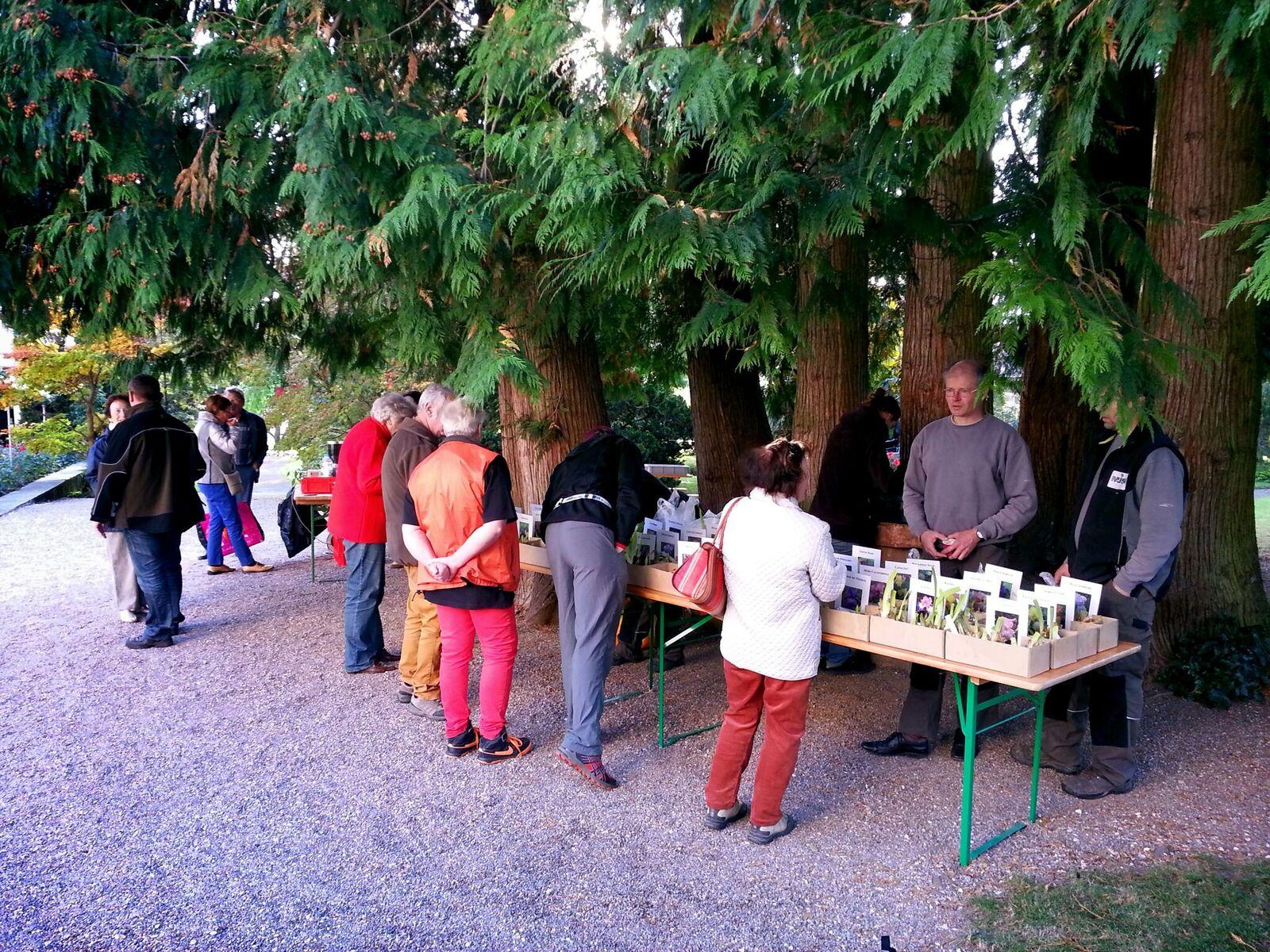 F te d automne au jardin botanique ville de porrentruy for Au jardin wedding