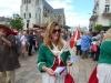 La parade avec distribution des papillons du marché de Saint-Martin