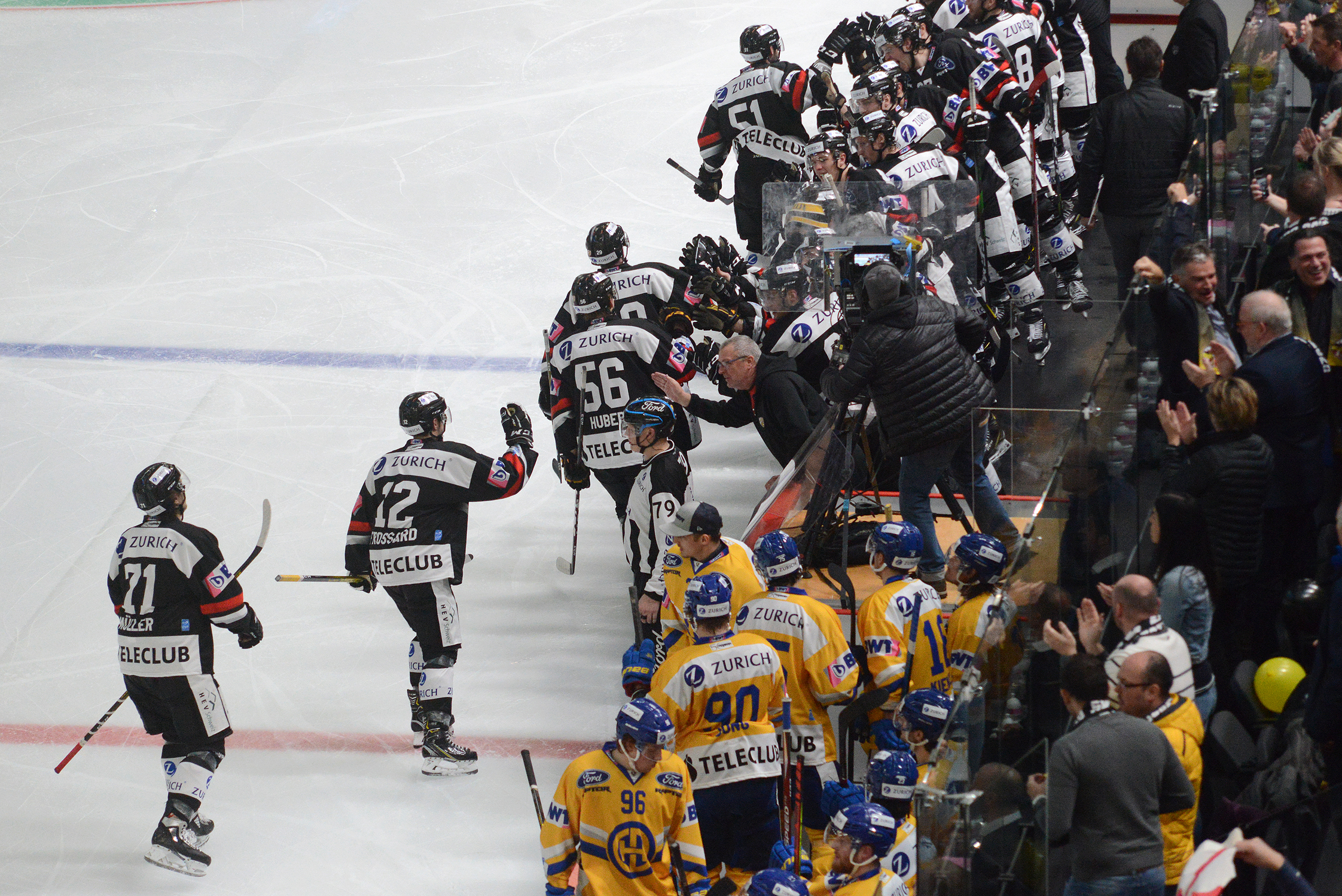 HC Ajoie-HC Davos but