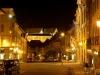 Rue Pierre-Péquignat de nuit